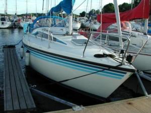 sunwind styrbord baug